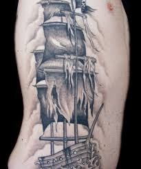 pirate clipper ship tattoo design pictures to pin on pinterest