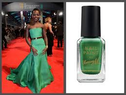 top 5 the baftas best dressed and nail polishes to match nailsxo