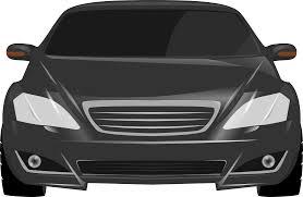 cartoon car png mercedes s class sedan front view png clipart download free