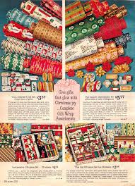 vintage christmas wrapping paper rolls pin by vintage adventure on vintage christmas signs catalogs