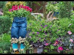 unique shoe and boot planter for your garden youtube
