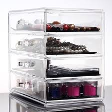 2017 acrylic makeup holder cosmetic organiser box contains lip