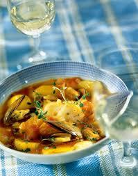 cuisine morue recette bouillabaisse de morue aux moules