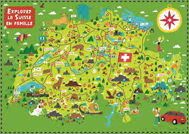 swiss map 136 best maps by nate padavick images on illustrated