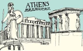 Athens City Breaks Guide by Athens City Guide Design Sponge