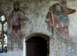 breage cornwall guide breage church medieval wall paintings