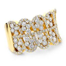 jewelry diamonds rings images Right hand rings 14k gold diamond ring for women 2 2ct jpg