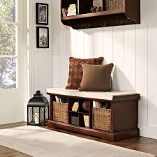Entry Storage Bench Bench Entry Way Benches With Storage Inside Wonderful Crosley