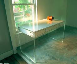 wary meyers lucite desk