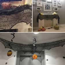 halloween lace curtains compare prices on lace mantle scarf online shopping buy low price