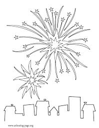 u0027s fireworks coloring paper