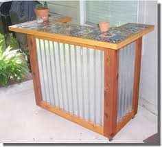 Patio Bar Designs This Outdoor Bar Furniture Is An Easy To Build Patio Bar Set
