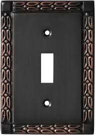 oil rubbed bronze light switch leaf oil rubbed bronze switch plates