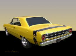 69 dodge dart 1969 dodge dart gt yellow sport coupe
