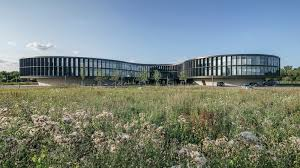 land rover headquarters eso headquarters extension auer weber assoziierte archdaily