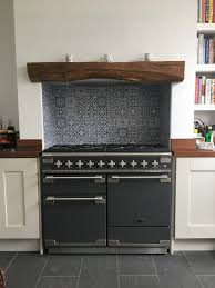 rangemaster elise 110 slate grey blue moroccan tiles worked solid