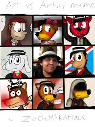 Artist Meme - art vs artist meme by zachmfkattack on deviantart