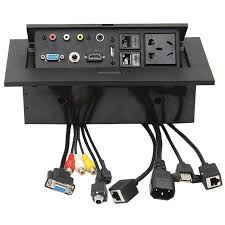 conference table electrical accessories wholesale selling new k518 multimedia desktop hdmi av vga free