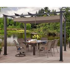 10 X 10 Pergola by Better Homes And Gardens Meritmoor Aluminum Steel Pergola With