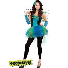 Halloween Costumes Teenage Girls Teen Girls Diva Peacock Costume Teen Costumes