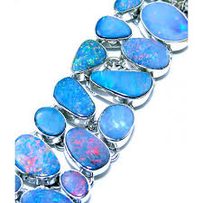 opal stone silver necklace images Nahla sterling silver opal bracelet 925 sterling silver jewelry jpg