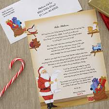 personalized letter from santa personalized letter from santa claus santa s workshop