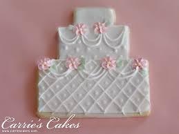 Wedding Cake Cookies Favors Carrie U0027s Wedding Cakes