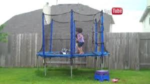 Safest Trampoline For Backyard by New Report Highlights The Dangers Of Backyard Trampolines Wbns