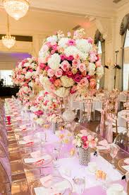 Pink And Gold Table Setting by Contemporary Wedding Table Accessories And Decoration Using Cute