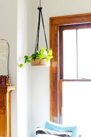 Modern Hanging Planter by Wooden Hanging Planters Home Design Ideas