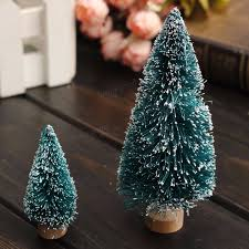 mini christmas tree home wedding decoration supplies artificial
