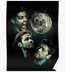 three wolf moon posters redbubble