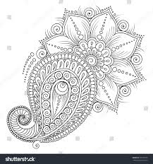 pattern coloring book coloring book pages stock vector 325766732