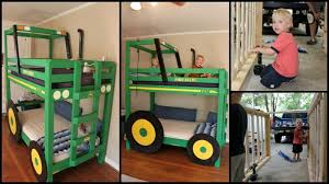 Build Your Own Wood Bunk Beds by Build Your Kids A Tractor Bunk Bed