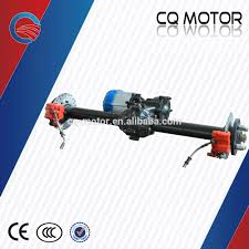 car rear suspension electric golf car motor assembly small differential motor kits