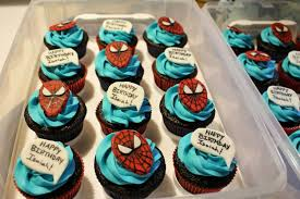 spiderman cupcakes cakecentral com