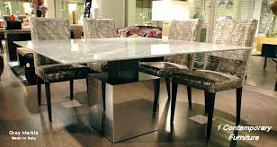 grey marble dining table stone top dining room table granite top dining room table simple