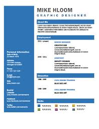 Bold Resume Template by 49 Creative Resume Templates Unique Non Traditional Designs