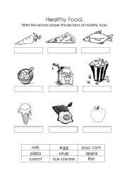 13 best images of eating healthy worksheets pdf first grade
