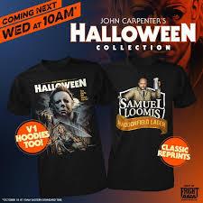 cool horror gear john carpenter u0027s halloween collection from