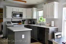 How To Paint Kitchen Cabinets White Without Sanding Painting Kitchen Cabinets White Caruba Info