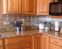 Press Coverage For American Tin Ceilings American Tin Ceilings - Tin ceiling backsplash