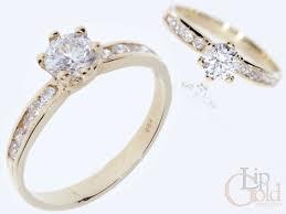 pierscionek zareczynowy złoty pierścionek zaręczynowy pierścionki