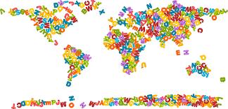 clipart animals alphabet world map