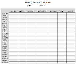 8 best images of 24 hour weekly planner printable 24 hour daily