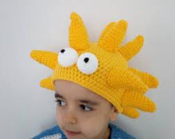 Simpson Halloween Costumes Lisa Simpson Wig Etsy
