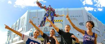 Universal Studios Orlando Interactive Map by Transformers The Ride 3d Universal Studios Florida