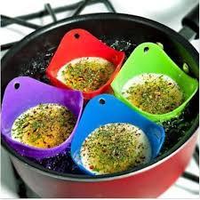 cuisine pocher 4pcs silicone pocheuse oeuf cuisson pocher pots à bille pâtisserie