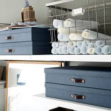 harvest wire storage baskets with handles the container store
