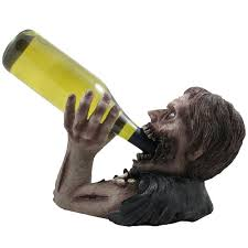 Medieval Decorations by Amazon Com 1 X Decorative Graveyard Zombie Wine Bottle Holder